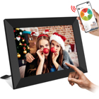 Black Friday 10.1 Inch 16GB WiFi Digital Picture Frame 1280x800 HD Digital Photo Frame Auto Rotate Add Photos/Videos via APP