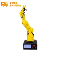 Anno 6 Axis Dof Android Educational Desktop Cnc Robot Arm