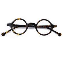 Маленькие круглые мужские очки с оправой, ретро классические женские очки, оптические очки для близорукости, прозрачные компьютерные очки ...(Китай)