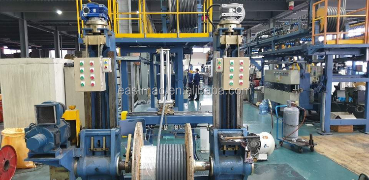 High speed insulation PE PVC LSZH HFFR extruder for power cable copper core sheathing and jacketing