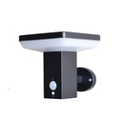 High quality door garden park stainless steel Wall led solar light outdoor led garden lamp