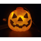 Factory Direct Sale 19CM Halloween Plastic Pumpkin Decorations Of Light For Halloween Or Party