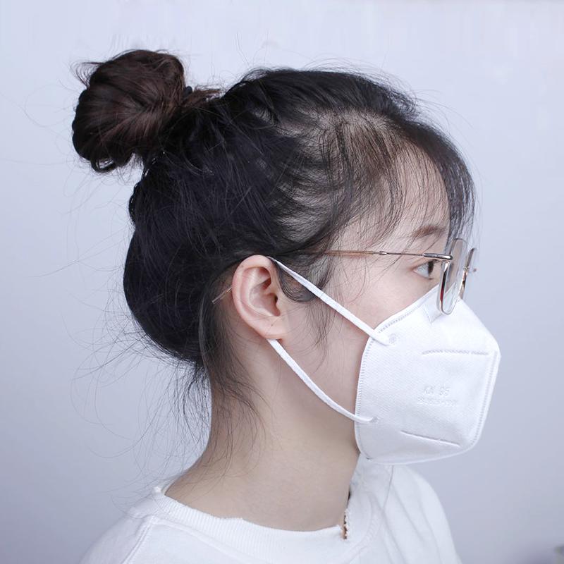 KN95 PM2.5 protección anti-polvo máscaras desechables mejor gancho cara máscara anti-virus