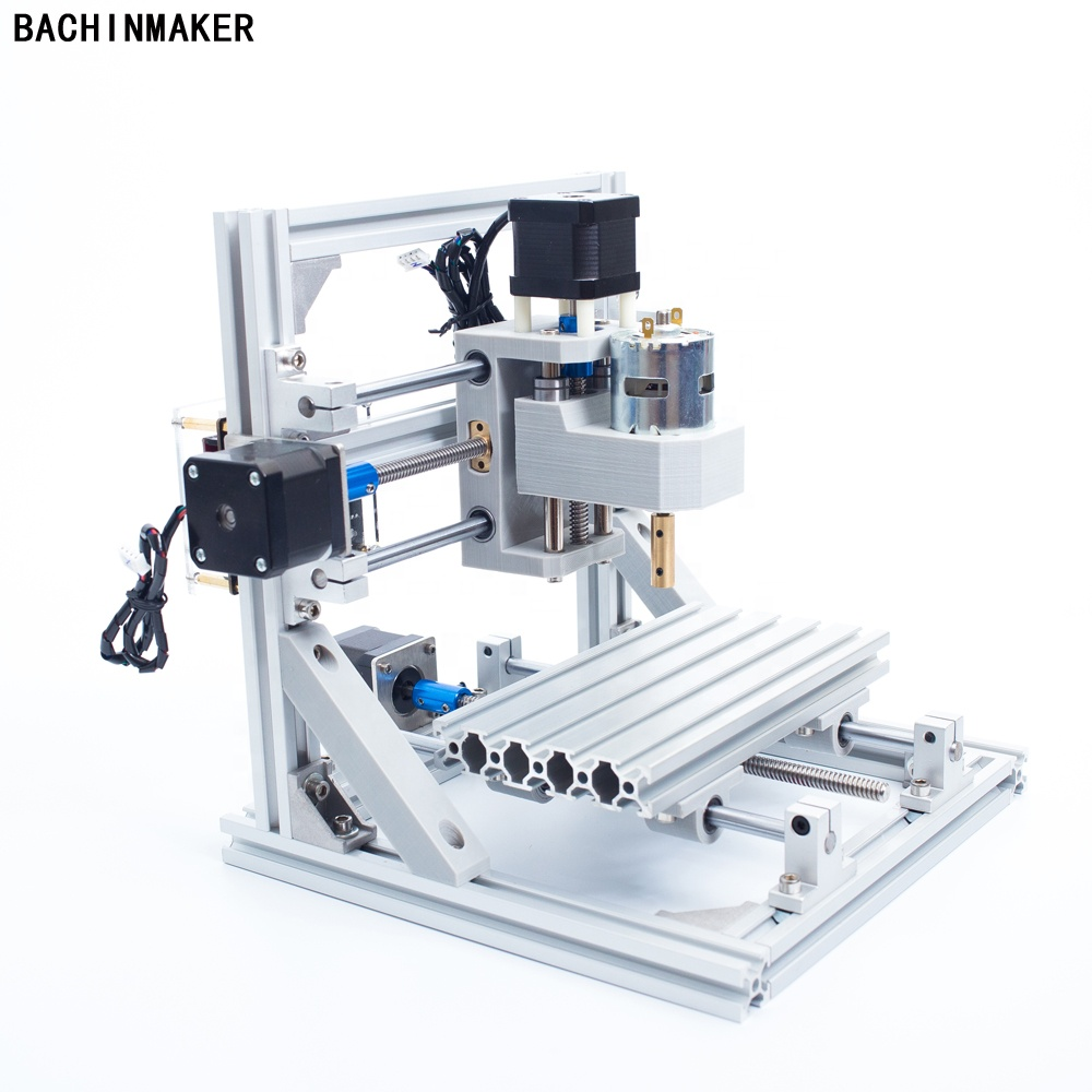 BACHINMAKER hot sell  D8-1610 3axis mini cnc laser router cutting machine for wood acrylic carving toy