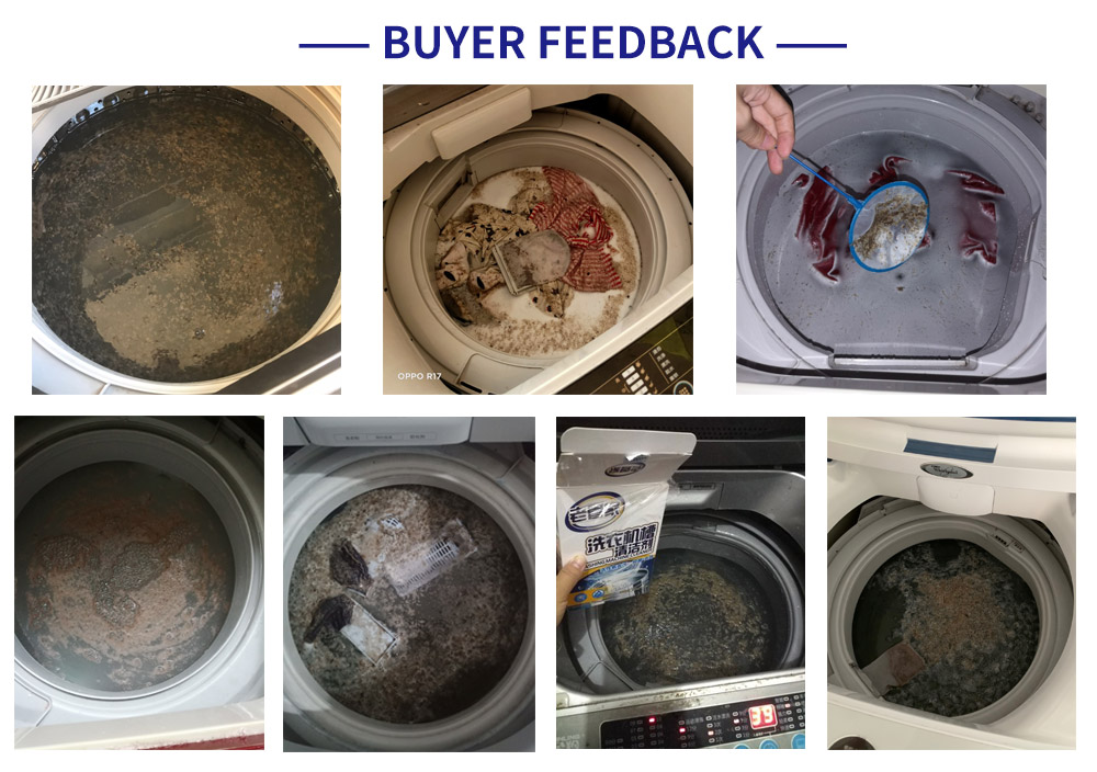 Chinese high quality anti-mold washing machine cleaner