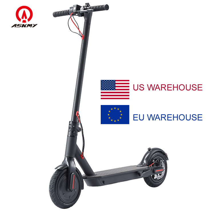 Eu Europe USA warehouse adult two wheels long range cheap escooter skuter buy electric mobility elektro mi scooter with seat