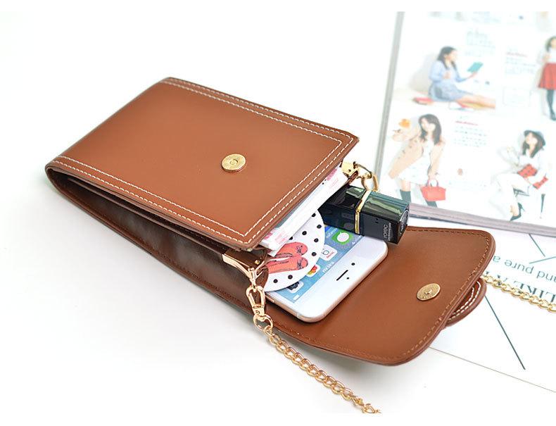 الفاخرة خلية جيب للهاتف حقائب كتف صغيرة Crossbody للنساء محفظة جلدية السيدات حقائب صغيرة حمل حقيبة ساعي الإناث