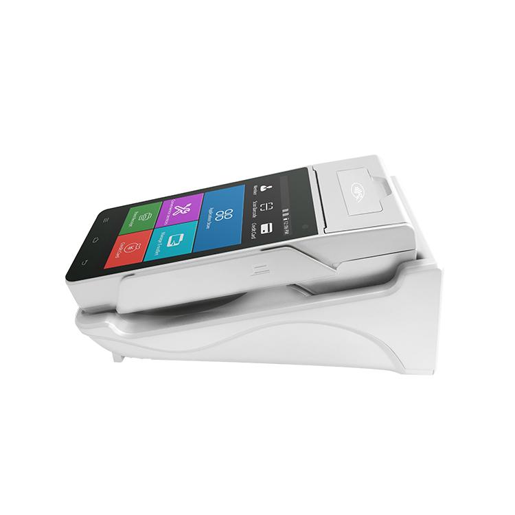 Terminal de point de vente 4g à main, système android, tout-en-un, avec wifi, imprimante thermique intégrée pour machine de poker en ligne