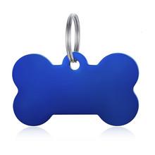 Vnox Персонализированные Бирки Для Собак из нержавеющей стали, идентификационные бирки для щенков и кошек, аксессуары для воротника индивиду...(Китай)