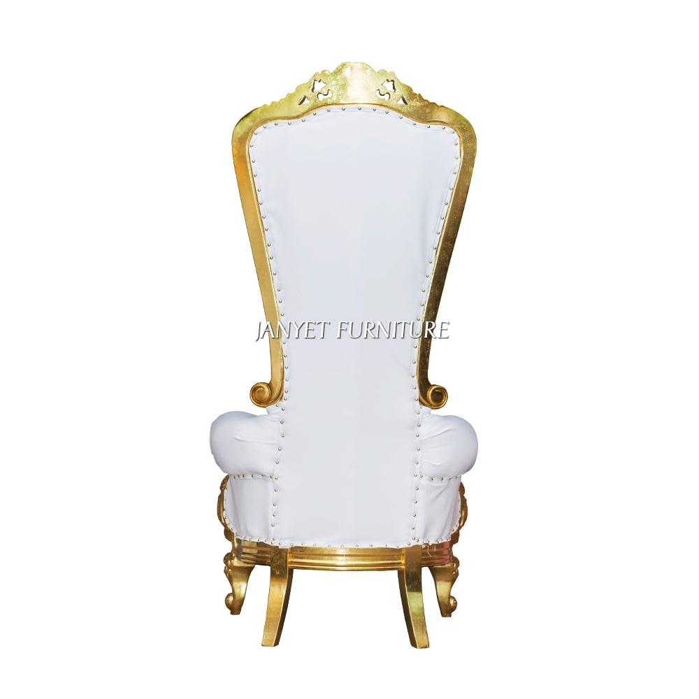 2020 Wholesale White Cheap King Throne Chair