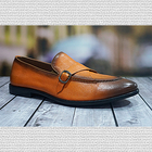 Classical leather shoes casual dress men for hot sale