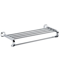 Zinc Alloy And Stainless Steel Chrome Wall Mounted single Towel Bar bathroom towel rack