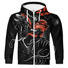 Full Hoodie Sublimation Sublimation Hoodie Halloween Horrible Cloth Full Print Hoodie Oversize Custom Dye Sublimation Zip Up Men Pullover Dark Black Hoodie Mens