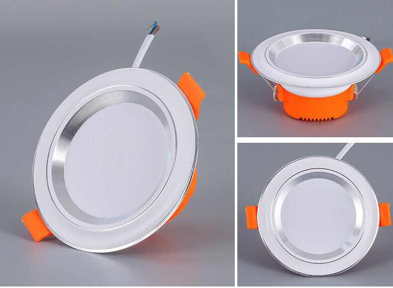 Factory price 3W led down light aluminum