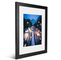 High quality premium Solid wooden framed poster picture photo frame art lobby wall decoration frame