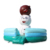 Customized Portable Inflatable Snow Bear Cartoon Bouncer Inflatable Bouncy Jumper For Kids