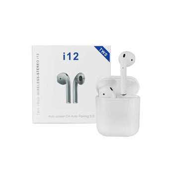 Pops Up Window Ture Wireless Stereo Bluetooth 5.0 Bulk Earphone Tws I12 Earbuds