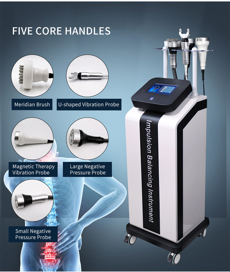 Physiotherapy Health Care Body Massager Equipment Gua Sha and Cupping Vibration Massage Dredge Meridian Physiotherapy Machine