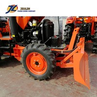 Hot Sale 45hp Argentina farm wheel tractor with Tractor front dozer blade ,rops made in china by jiulin