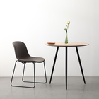New simple nordic designs kitchen dinning dinner mdf round dining table