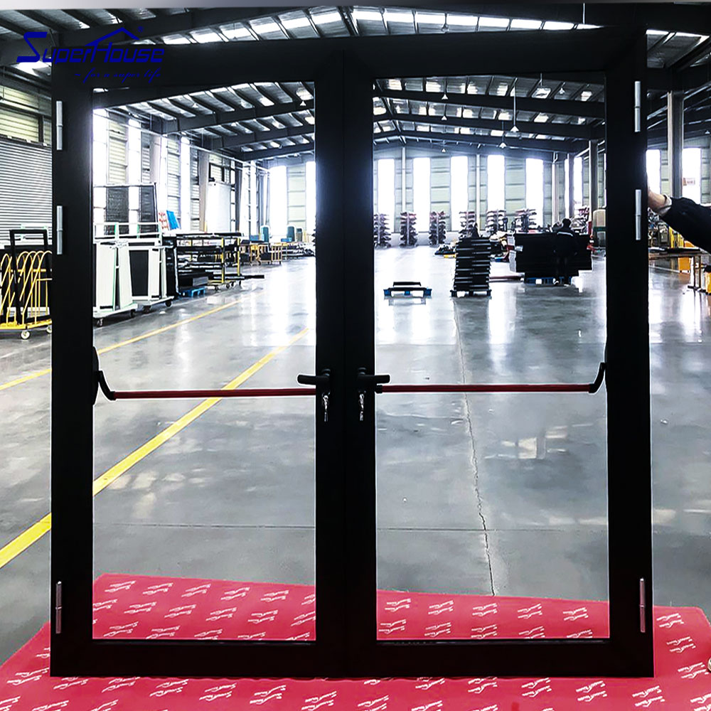 American standard Miami-Dade County Approved aluminium french doors/escape door