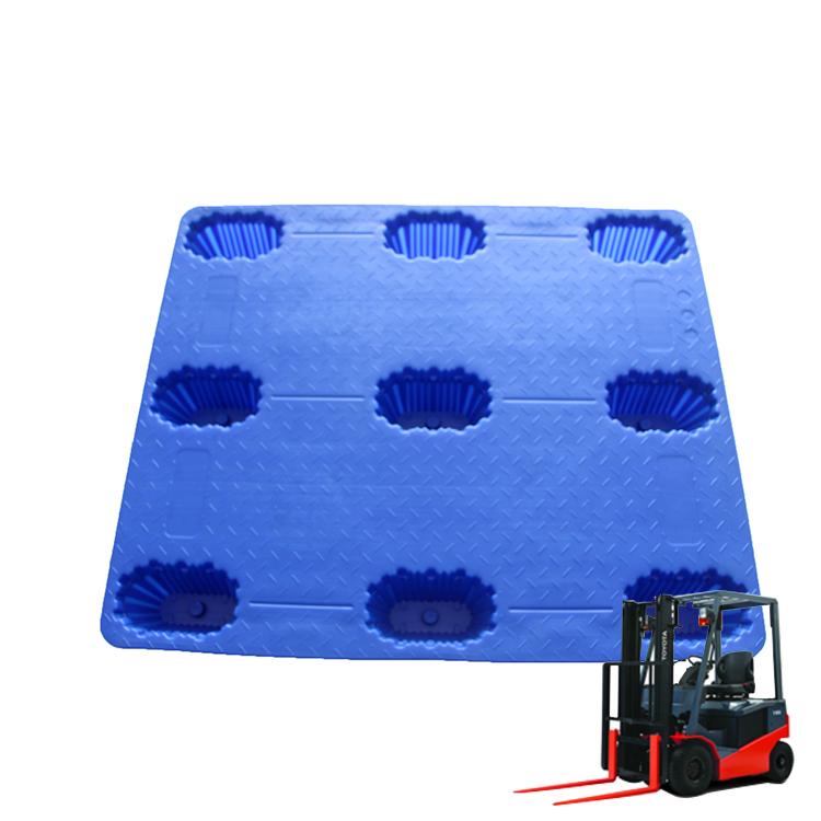 Nestable hdpe blow molding standard plastic pallet
