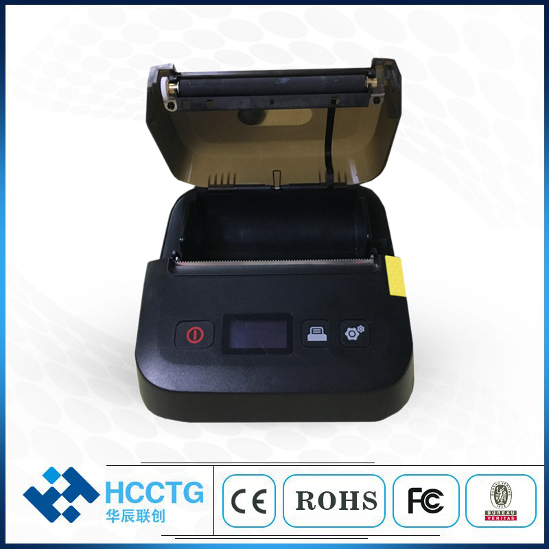 "4"" Barcode Hand Held Portable Thermal Label Printer with LCD Display HCC-L52"