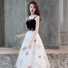 Выпускные платья 2020 It's Yiiya R259 элегантное платье короткое официальное платье без бретелек на молнии на тонких бретелях женские вечерние плат...(Китай)