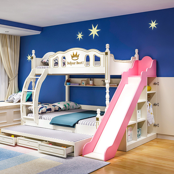 Double Loft Bed With Slide Cheaper Than Retail Price Buy Clothing Accessories And Lifestyle Products For Women Men