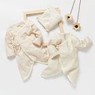 Organic Baby Clothes Baby Organic Clothes Low MOQ GOTS Certified Organic Cotton Newborn Baby Boy Girl Bodysuit Clothes Clothing