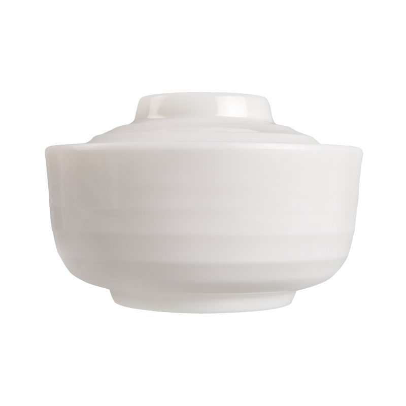 Wholesale Stock Melamine Soup Tureen With Lid