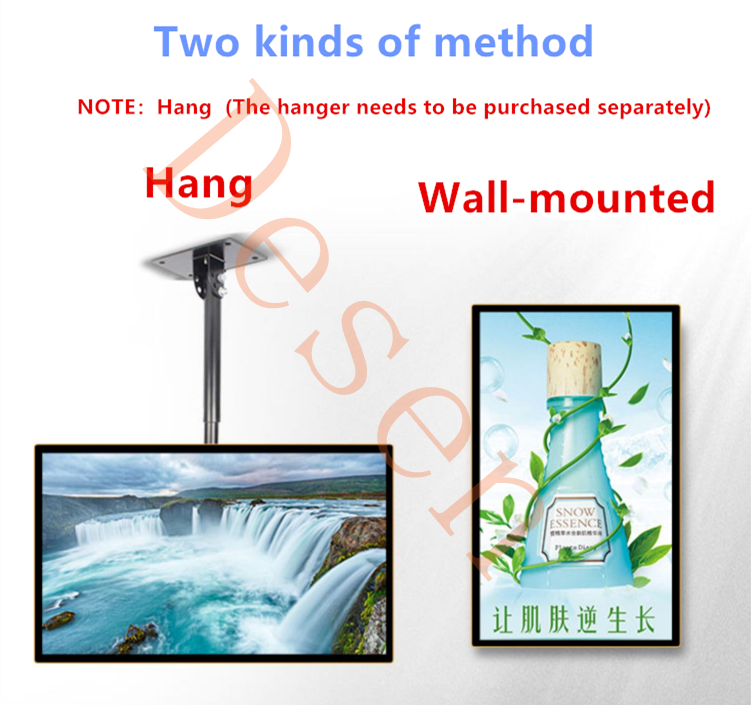 18.5-100inch Most Popular android 4.4 WiFi/3G/LAN digital signage display wifi 1920 box advertising media player