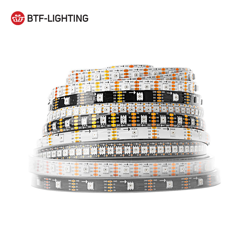 Promotion price ip67 waterproof 144pixels <strong>rgb</strong> sk9822 led strip light