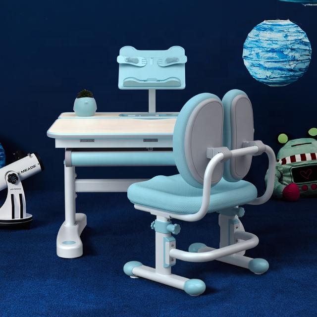 Igrow Belajar Meja Kursi Set Ergonomis Meja Belajar untuk Anak-anak