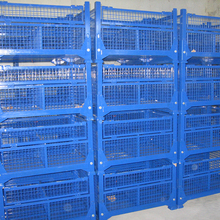 Factory direct high quality warehouse collapsible grid container