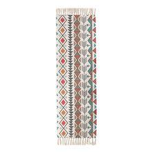 2020 ретро-богемный стиль ковер прикроватный ковер из хлопка и льна с кисточками домашний тканый коврик для спальни декор для гостиной ковер ...(Китай)
