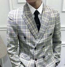 Мужской смокинг Traje De Boda, дизайнерский костюм для свадьбы, 2020(Китай)
