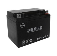 Sealed Lead Acid Motorcycle 12v Battery 6.5ah/China Motorcycle Spare Parts