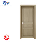 60 minutes UL fire rated wooden hotel room door