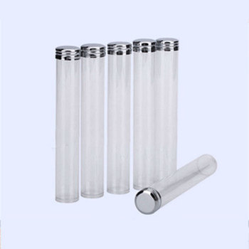 Fast Delivery 22mm X 140mm Clearfood Tube Packaging Food Grade Plastic Test Tube