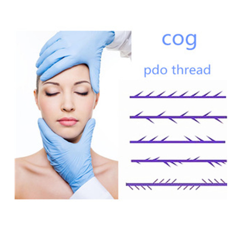 Advanced PDO 3D Cog Thread L Blunt cannula face lift thread for <strong>V</strong> lifting
