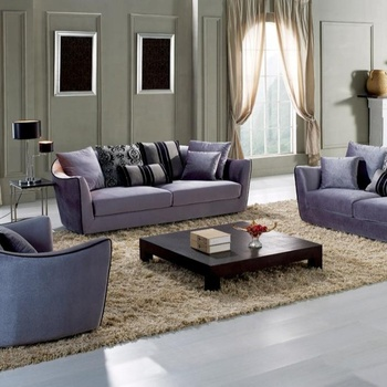 Purple 3 2 1 modern sectional 3 piece sofa set for designs