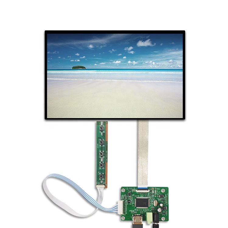1920*1200 de alta luminosidad 30 pin ips edp pantalla Lcd 10,1 pantalla táctil capacitiva y la Junta disponible de 10,1 pulgadas ips lcd panel