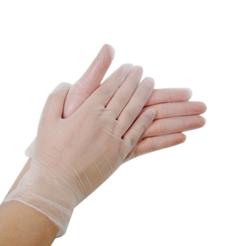 Disposable pvc gloves acid and alkali resistant oil resistant antifouling gloves rubber gloves