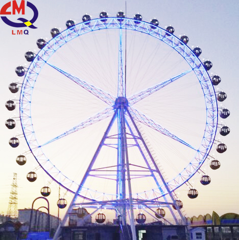 Amusement Equipment 56m Giant Ferris Wheel for Sale