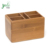 Bamboo desktop Organization Caddy for Kitchen or Office