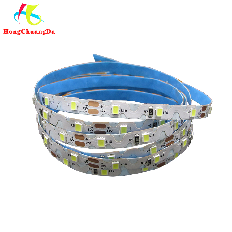 high quality SMD2835 12v 8mm LED strip flex cuttable rope light with 48leds