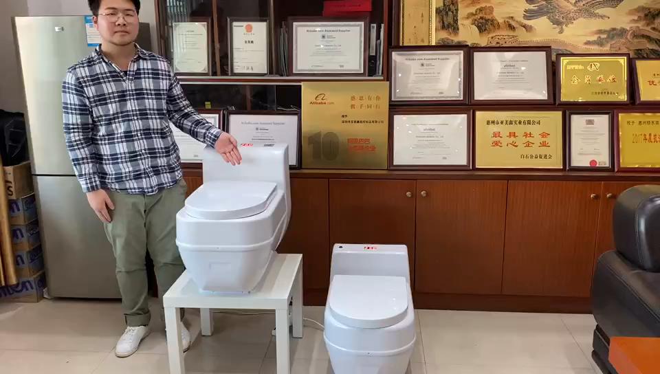 Vacuum Plastic Toilet System Portable Toilet Bio Toliet RV Toilet