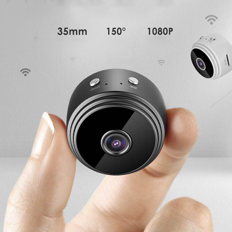 Mini Caméra Wifi Secret Micro Cctv Prix Caméras Cachées Sans Fil HD 1080P Intérieur Vision Nocturne Camara Espia nounou Cam