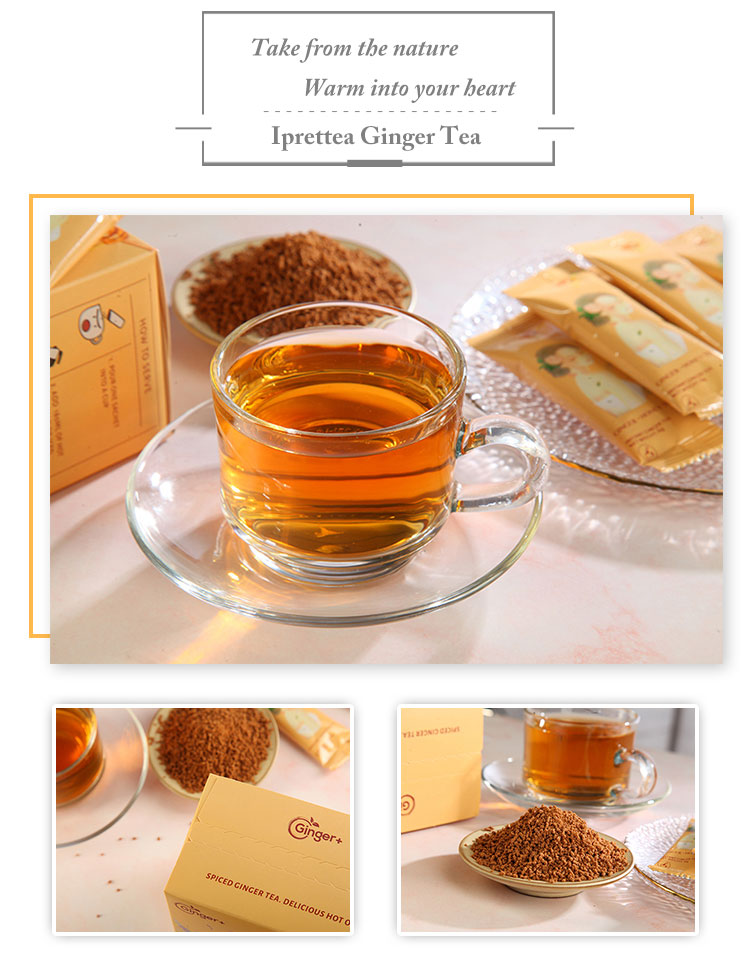 Chinese Herbal Drink Instant Ginseng Ginger Tea Drink For Health Care - 4uTea | 4uTea.com